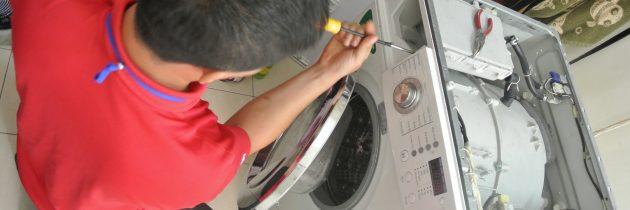 Sửa máy giặt không vào điện