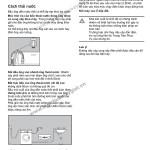 Hướng dẫn sử dụng máy giặt Electrolux EWF1090 từ A-Z(p1)