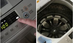 Hướng dẫn làm sạch máy giặt định kỳ không cần thợ với 4 bước đơn giản5