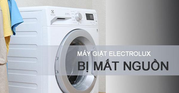 Sửa máy giặt Electrolux mất nguồn