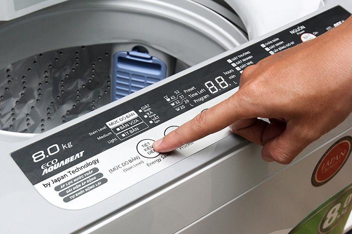 Hướng dẫn cách sử dụng máy giặt Panasonic8