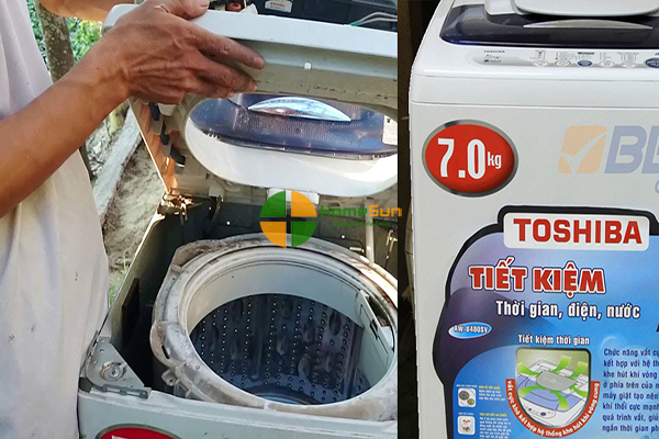 Sửa chữa máy giặt Toshiba mất nguồn