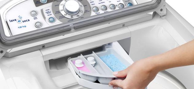 Lựa chọn loại bột giặt hay nước giặt chuyên dụng cho từng dòng máy