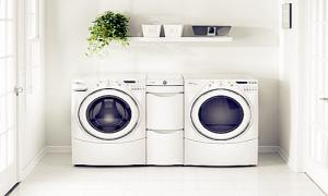 Cần đặt máy giặt ở nơi khô ráo, bằng phẳng