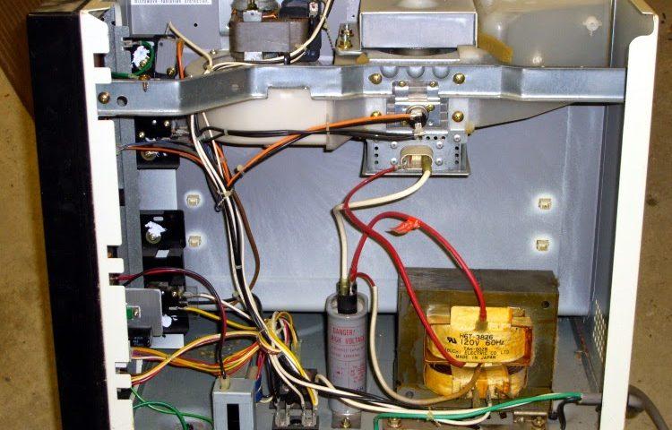 sửa lò vi sóng không nóng
