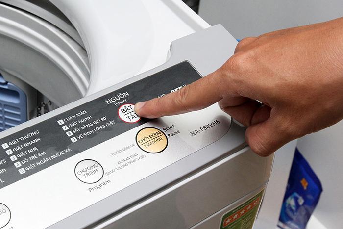 Hướng dẫn cách sử dụng máy giặt Panasonic1