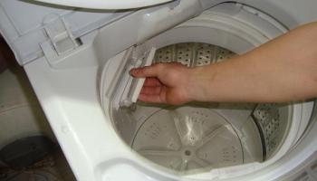 Hướng dẫn cách xử lý máy giặt không vắt tại nhà 0915555678