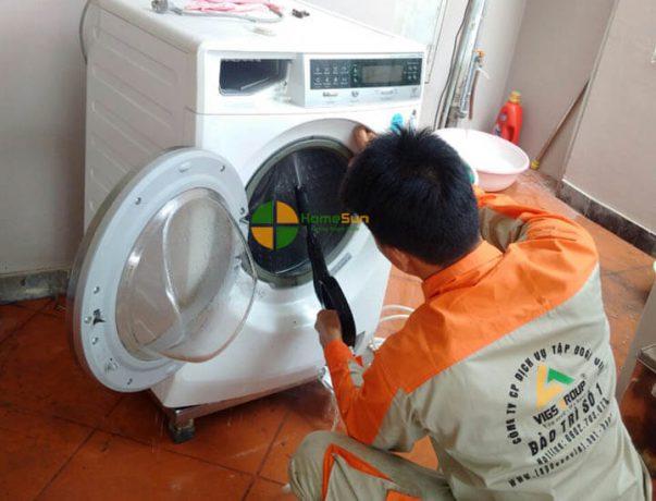 Cách sửa máy giặt không xả nước