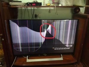 Mua tivi hỏng màn hình