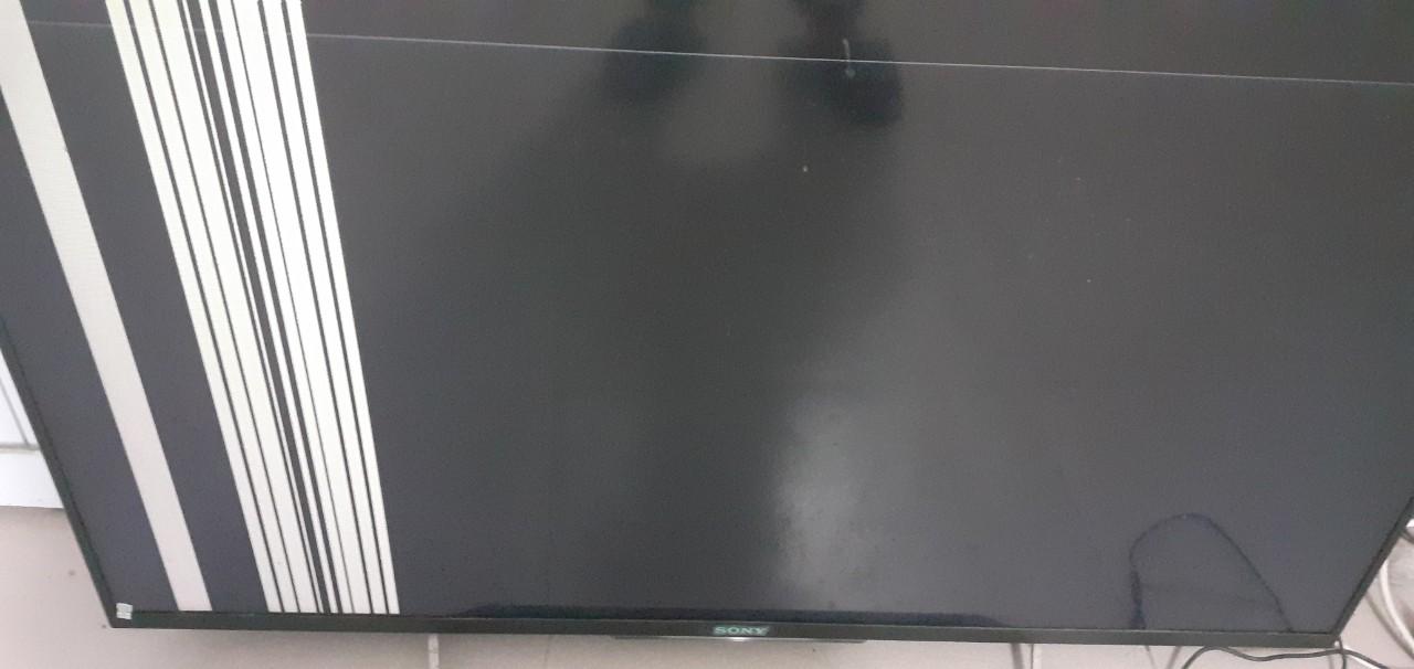 hiện tượng hỏng màn hình tivi sony model 42w700