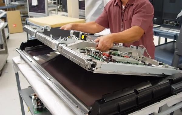 Điện lạnh Bách Khoa thay màn hình tivi LG chuẩn 100%
