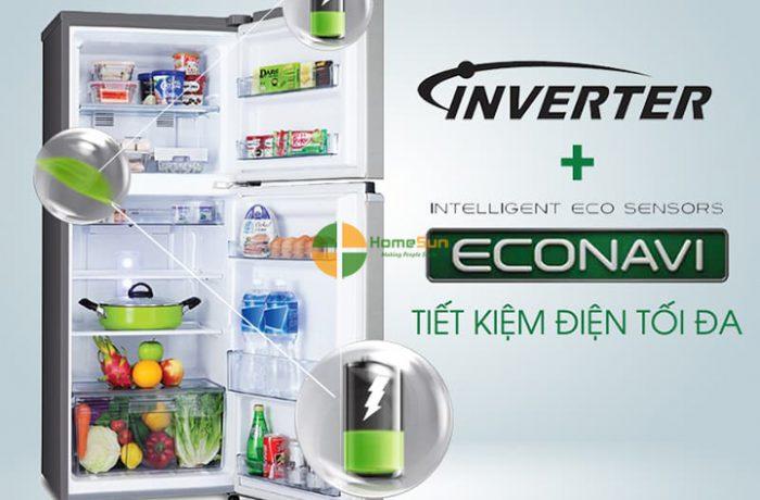 Sửa chữa tủ lạnh inverter