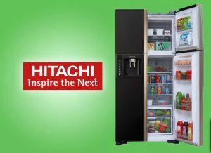 Sửa tủ lạnh hitachi inverter