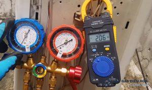 Hướng dẫn kiểm tra đo gas điều hòa