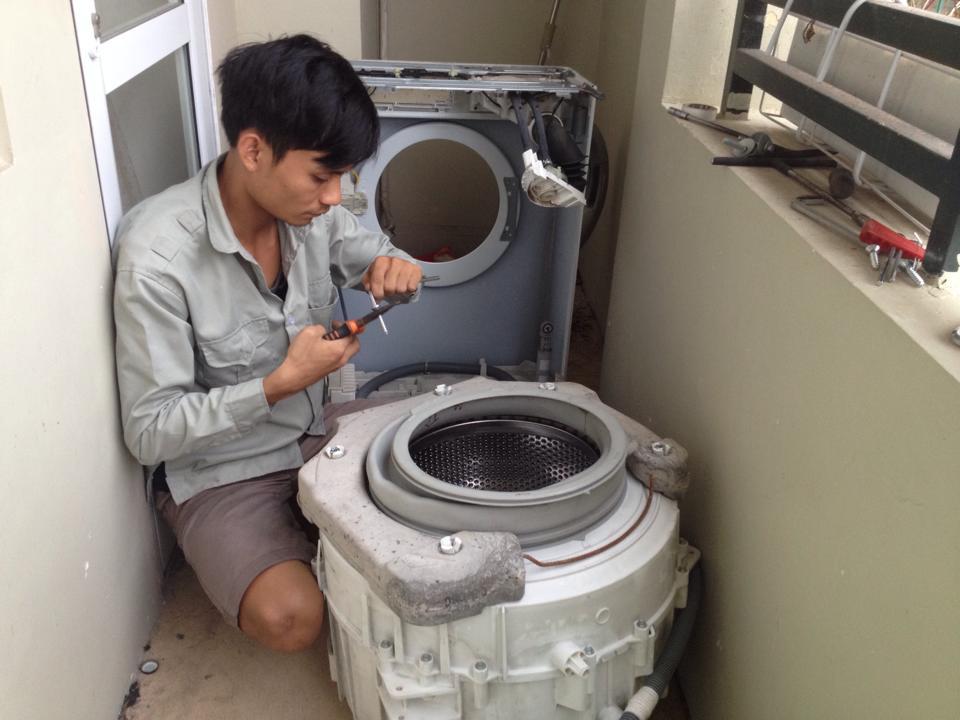 Sửa máy giặt tại time city