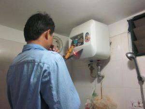 Sửa bình nóng lạnh tại Cầu Giấy