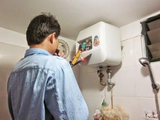 Sửa chữa bình nóng lạnh tại Cầu Giấy