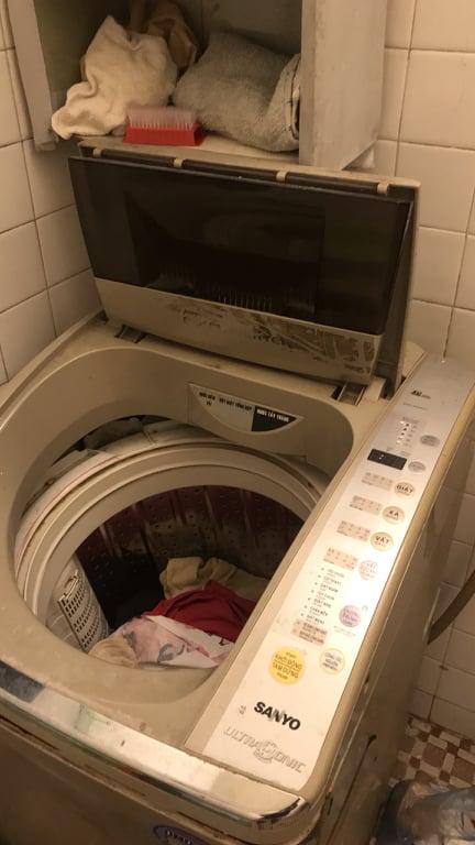 khắc phục máy giặt rung lắc mạnh