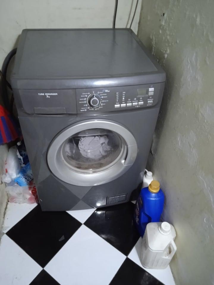 khắc phục máy giặt rung lắc