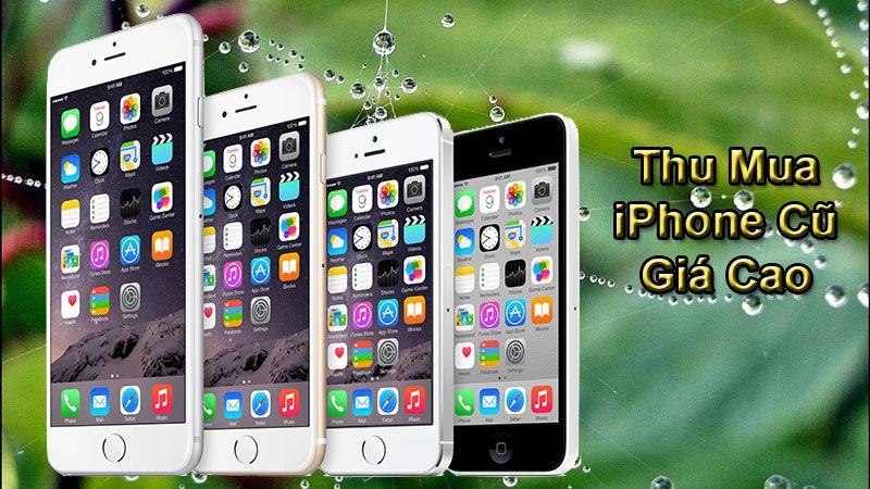 mua điện thoại Iphone cũ hỏng